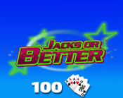Jacks or Better 100 Hand