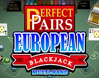 Multi Hand - Perfect Pairs European Blackjack Gold